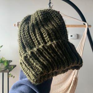 Phase 3 Nordstrom green hat beanie